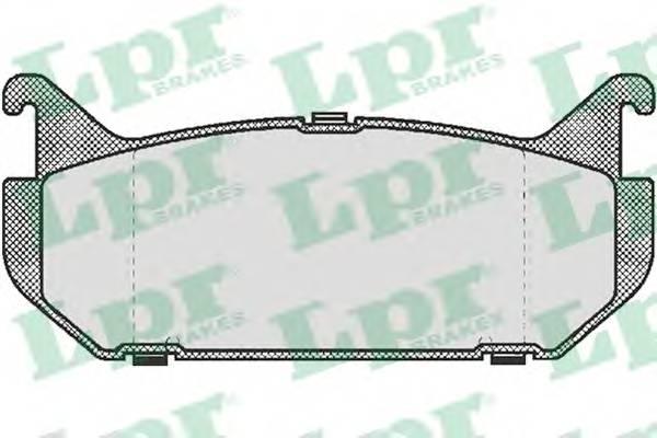 Тормозные колодки Тормозные колодки дисковые PAGID арт. 05P512