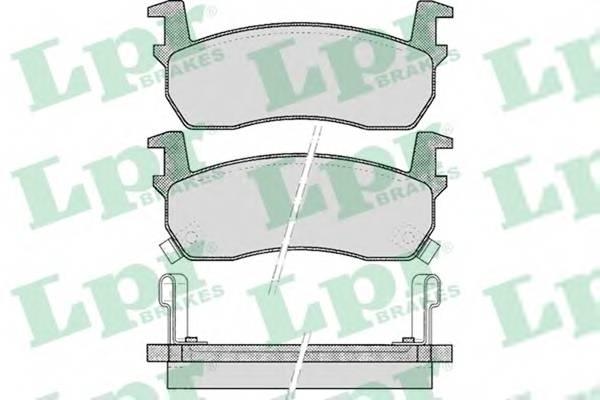 Тормозные колодки Тормозные колодки дисковые ABE арт. 05P516