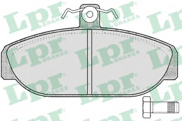 Тормозные колодки Тормозные колодки PAGID арт. 05P529