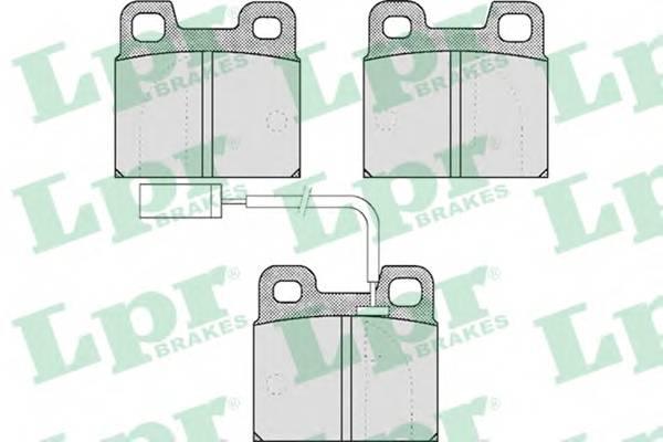 Тормозные колодки SF2815 Тормозные колодки PAGID арт. 05P531