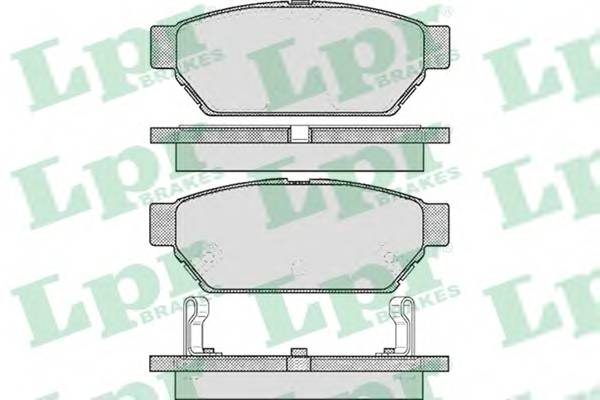 Тормозные колодки SF2933 Тормозные колодки PAGID арт. 05P547