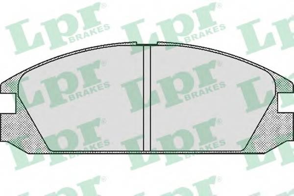 Тормозные колодки Тормозные колодки дисковые PAGID арт. 05P552