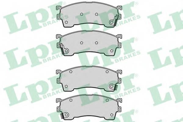 Гальмівні колодки, дискові ABE арт. 05P559