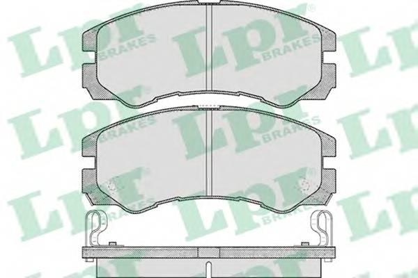 Тормозные колодки Тормозные колодки дисковые PAGID арт. 05P565