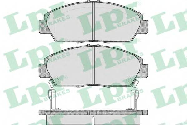 Тормозные колодки SF2747 Тормозные колодки PAGID арт. 05P567