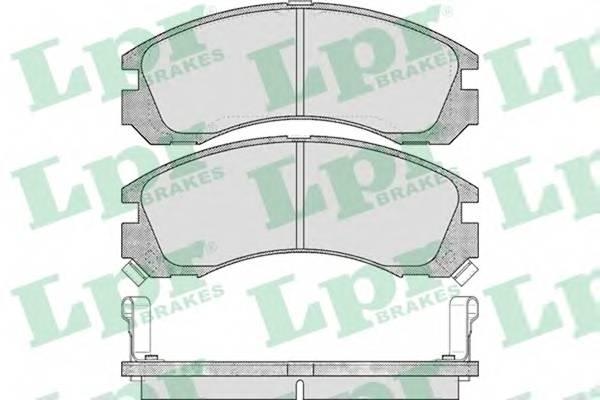 Тормозные колодки Тормозные колодки ABE арт. 05P578