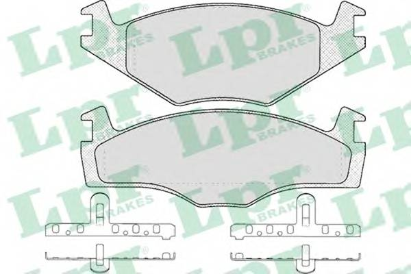Тормозные колодки Тормозные колодки дисковые PAGID арт. 05P591