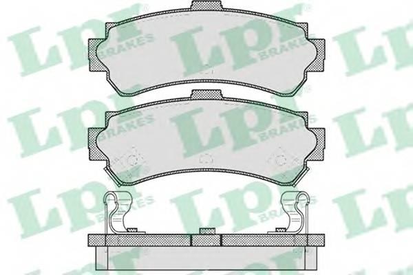 Тормозные колодки Тормозные колодки дисковые PAGID арт. 05P624