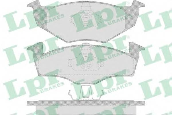 Тормозные колодки Тормозные колодки дисковые PAGID арт. 05P638