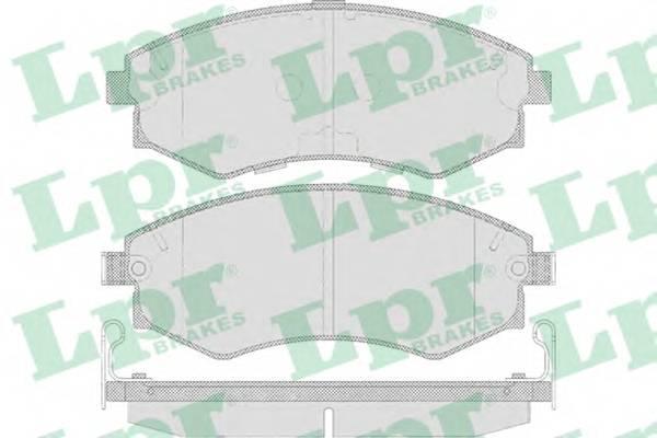 Тормозные колодки SF2639 Тормозные колодки ABE арт. 05P640