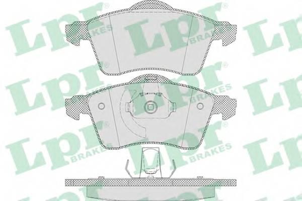 Тормозные колодки SF2853 Тормозные колодки PAGID арт. 05P645