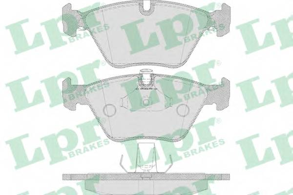 Тормозные колодки SF2818 Тормозные колодки ABE арт. 05P649
