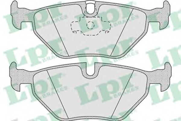 Тормозные колодки Тормозные колодки дисковые PAGID арт. 05P675