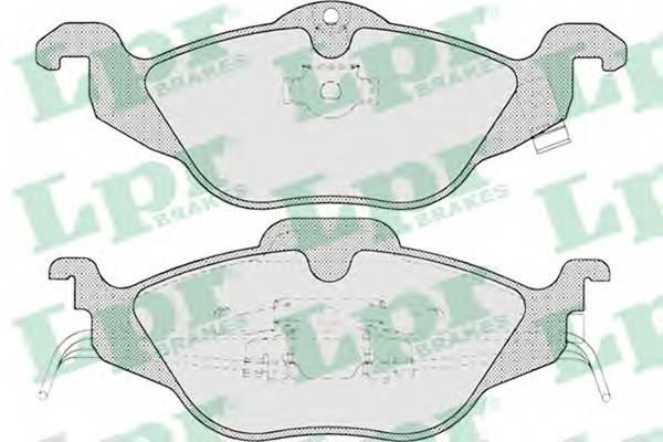 Тормозные колодки Тормозные колодки PAGID арт. 05P698
