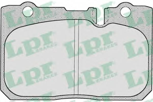 Тормозные колодки Тормозные колодки дисковые PAGID арт. 05P702