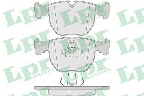 Тормозные колодки Тормозные колодки ABE арт. 05P771