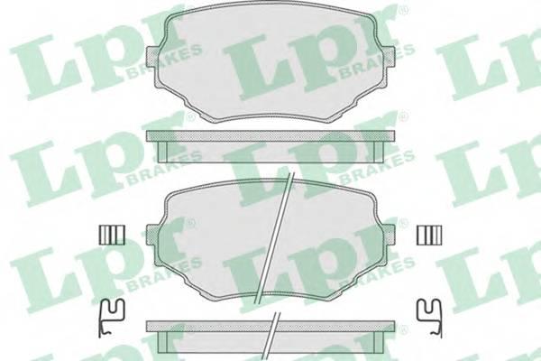 Тормозные колодки Тормозные колодки ABE арт. 05P798