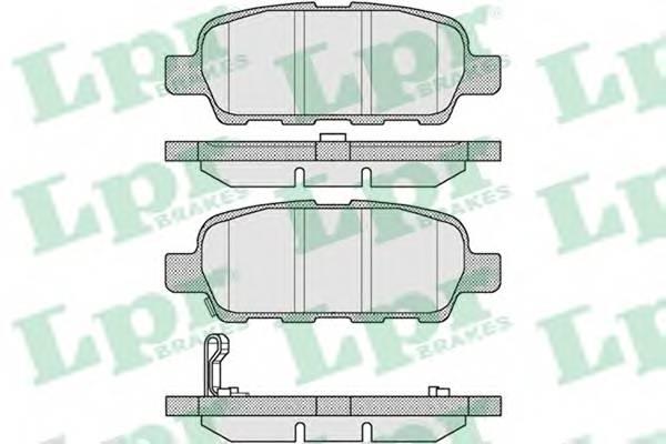Тормозные колодки Тормозные колодки дисковые PAGID арт. 05P857