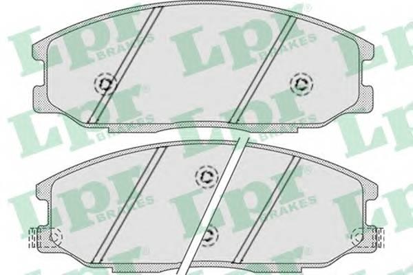 Тормозные колодки Тормозные колодки PAGID арт. 05P858