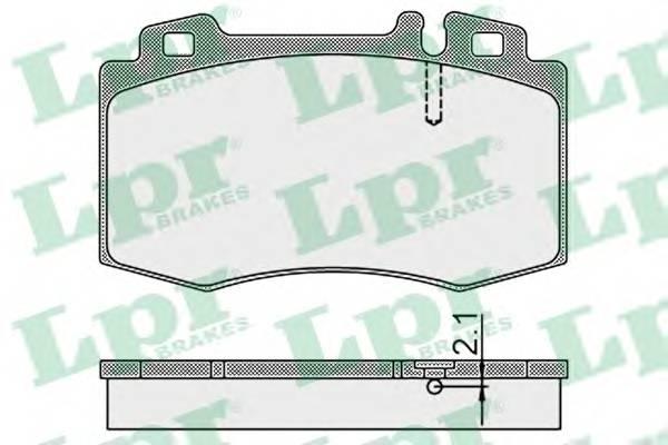 Тормозные колодки Тормозные колодки PAGID арт. 05P899