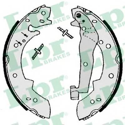 Тормозные колодки Тормозные колодки барабанные ABE арт. 07050