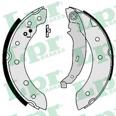 Тормозные колодки Тормозные колодки барабанные ABE арт. 07130