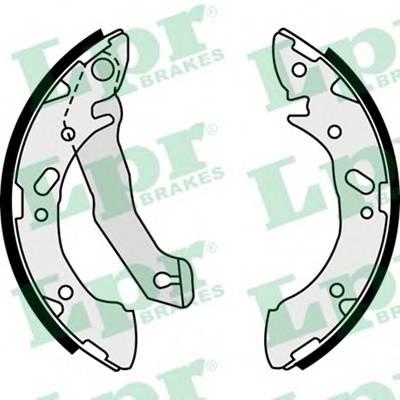 Тормозные колодки Тормозные колодки барабанные PAGID арт. 07870
