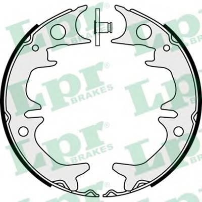 Тормозные колодки Тормозные колодки барабанные ABE арт. 08380