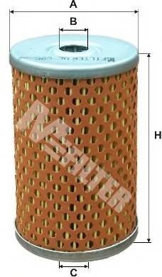 Паливний фільтр BOSCH арт. DE686