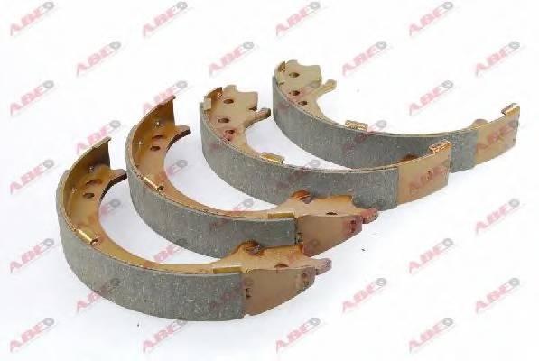 Тормозные колодки Гальмівні колодки, барабанні ABE арт. C04020ABE