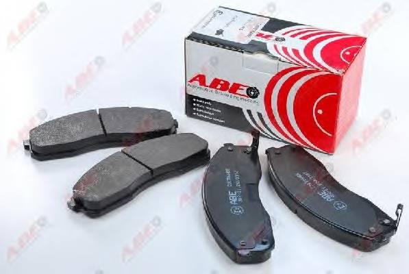 Гальмівні колодки, дискові ABE арт. C10316ABE