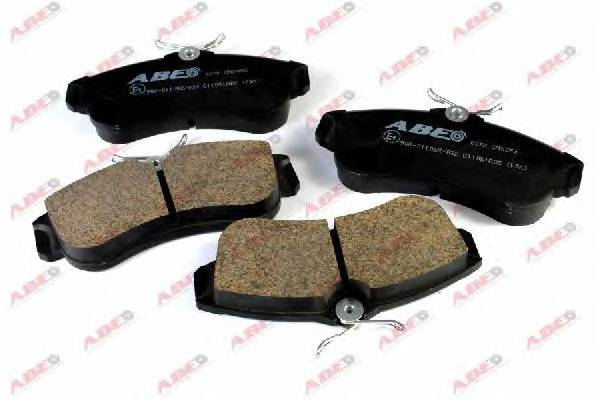 Гальмівні колодки, дискові ABE арт. C11051ABE
