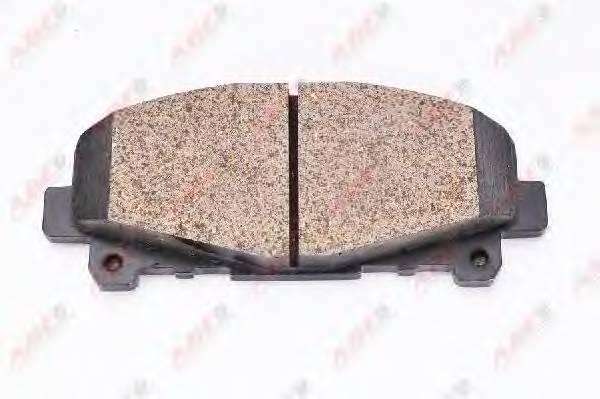 Гальмівні колодки, дискові ABE арт. C14057ABE