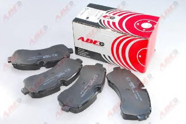 Гальмівні колодки, дискові ABE арт. C1M047ABE
