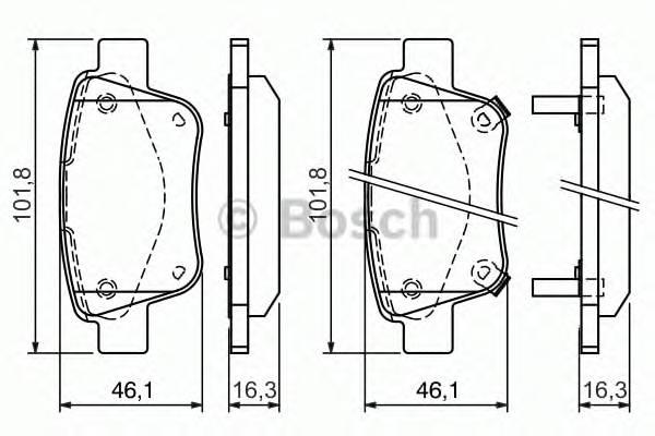 Тормозная система Гальмiвнi колодки, к-кт. PAGID арт. 0986424798