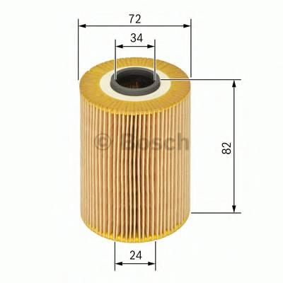 Масляные фильтры Фільтр масляний BOSCH арт. 1457429197