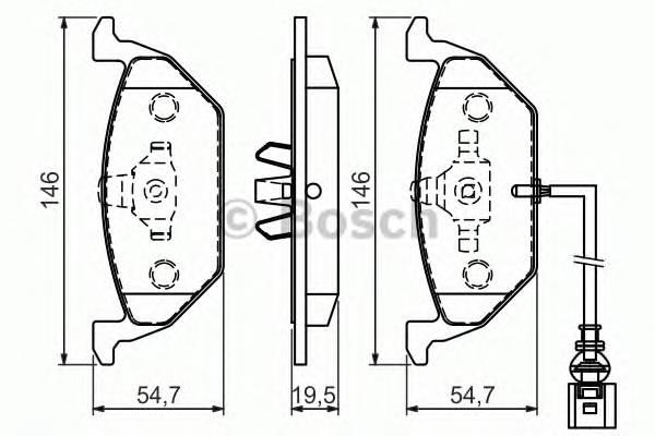 Тормозные колодки Тормозные колодки PAGID арт. 0986494525