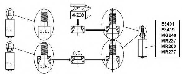 Амортизатор ORIGINAL KYB арт. MR227