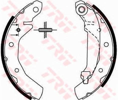 Тормозные колодки Тормозные колодки барабанные ABE арт. GS8646