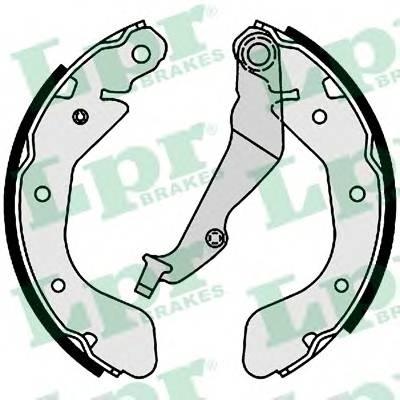 Тормозные колодки Тормозные колодки барабанные Aveo PAGID арт. 01001
