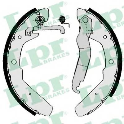Тормозные колодки Тормозные колодки барабанные PAGID арт. 03970