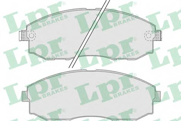 Тормозные колодки Тормозные колодки PAGID арт. 05P1015