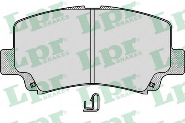 Тормозные колодки Тормозные колодки дисковые ABE арт. 05P1028