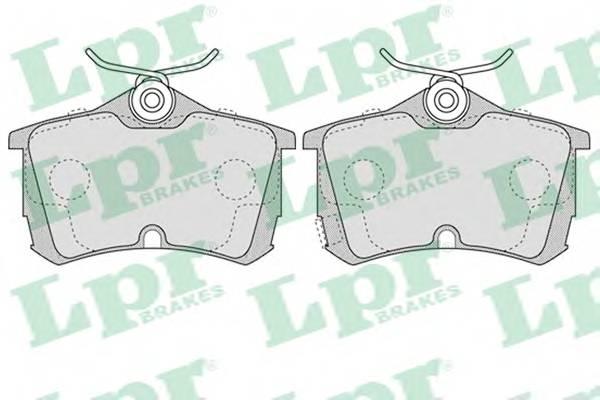Тормозные колодки Тормозные колодки дисковые PAGID арт. 05P1037