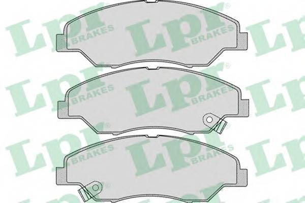 Тормозные колодки Тормозные колодки дисковые PAGID арт. 05P1053