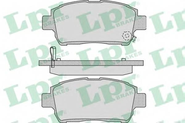 Тормозные колодки Тормозные колодки дисковые ABE арт. 05P1062
