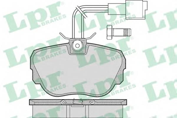 Тормозные колодки Тормозные колодки дисковые ABE арт. 05P1079