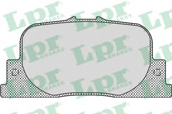 Тормозные колодки Тормозные колодки дисковые PAGID арт. 05P1112