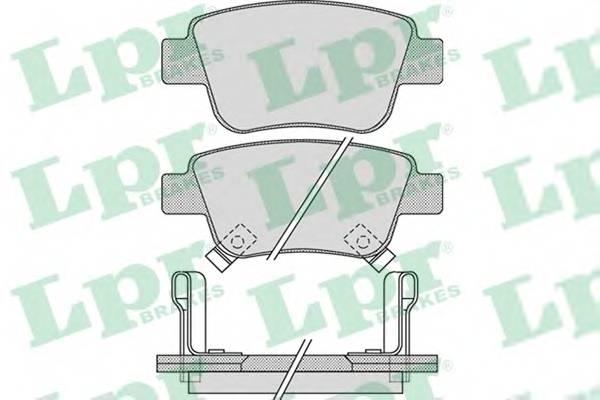 Тормозные колодки Тормозные колодки дисковые PAGID арт. 05P1113