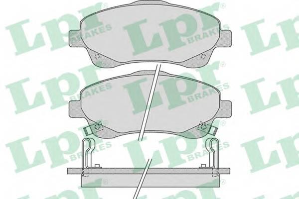 Тормозные колодки Тормозные колодки PAGID арт. 05P1114